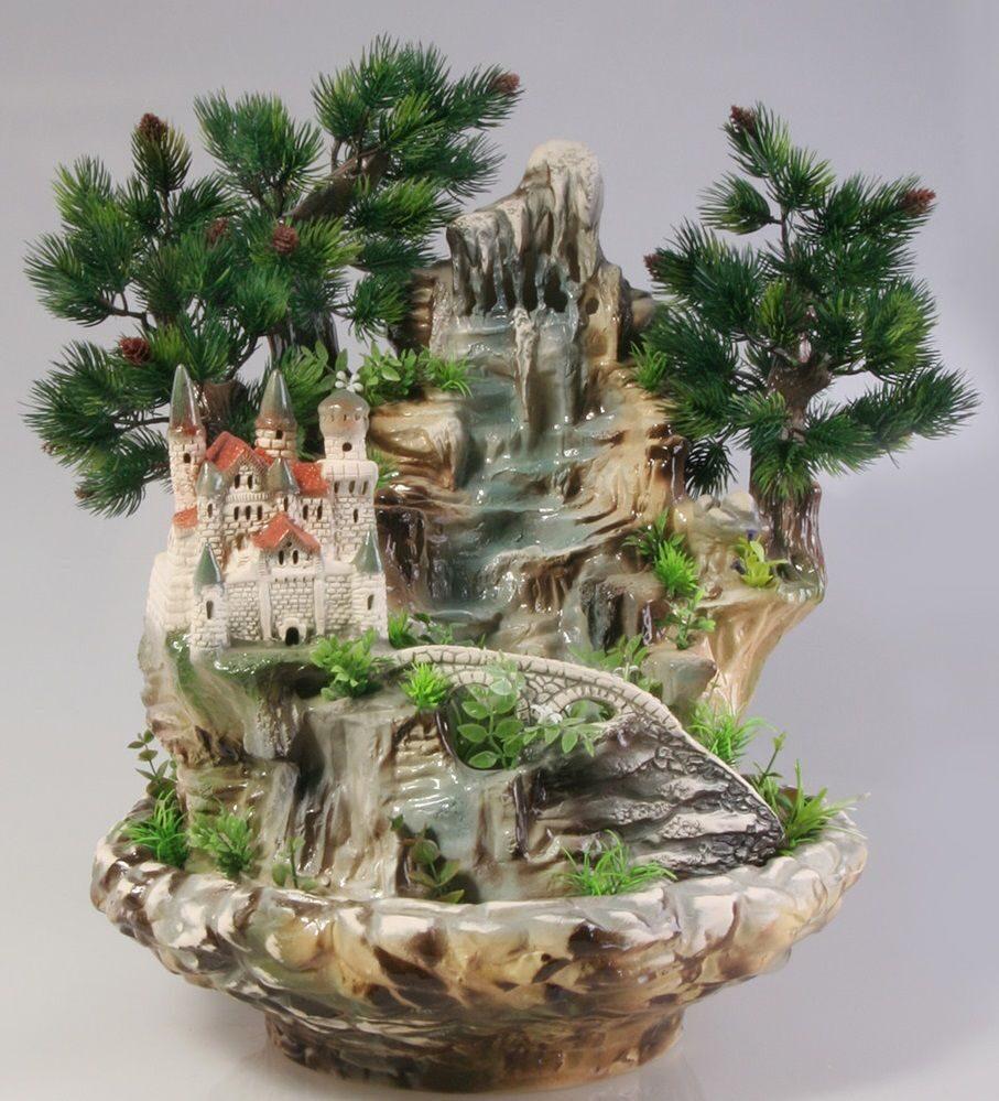 Декоративные фонтаны своими руками фото