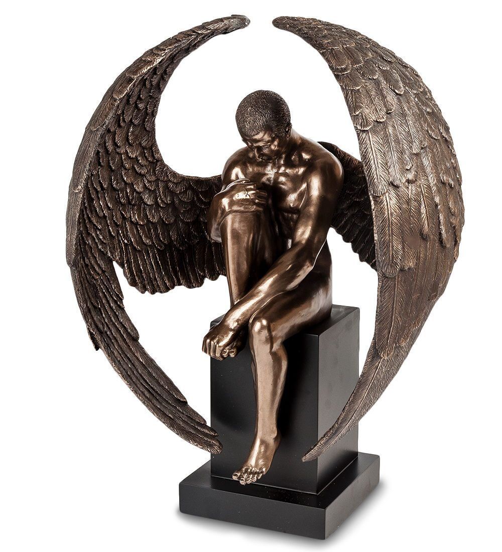 Veronese Ws-411 статуэтка 'поцелуй ангелов'