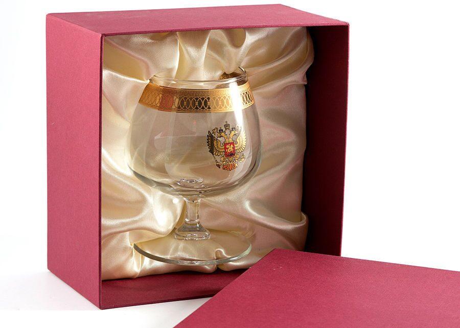 Упаковка бокалов в подарок 78