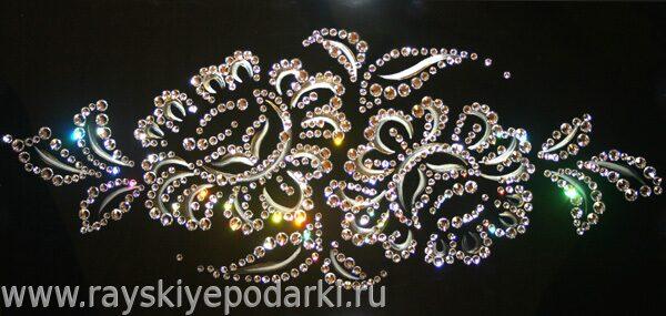 Кристаллы сваровски картины своими руками