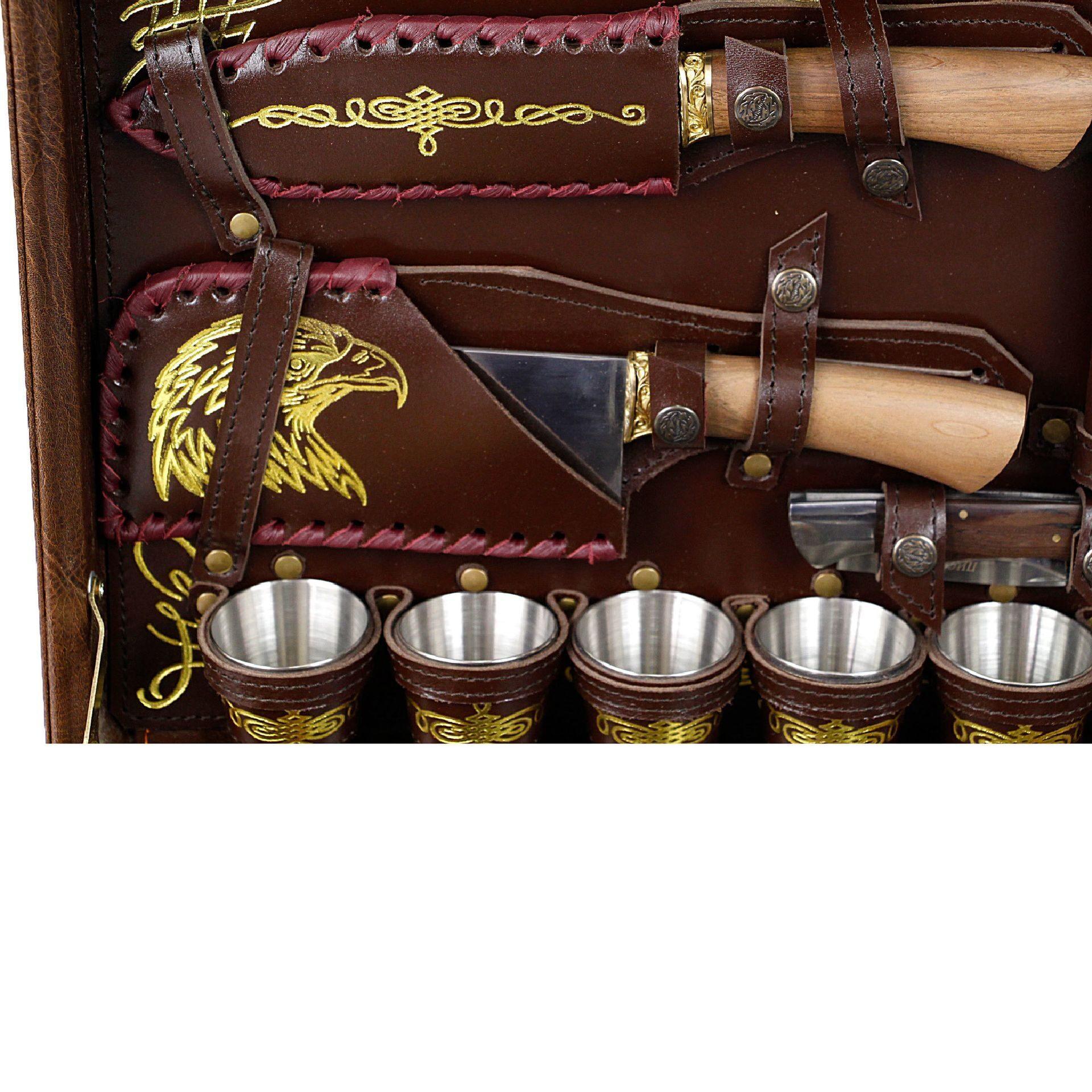 Набор для шашлыков в подарок 976