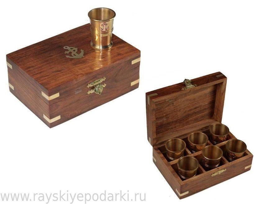 "Набор для коньяка ""Якорь"" от 3 233 руб"