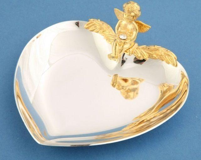 "Crystal Union Блюдце для колец ""Ангел"" SA-3020/SGA"
