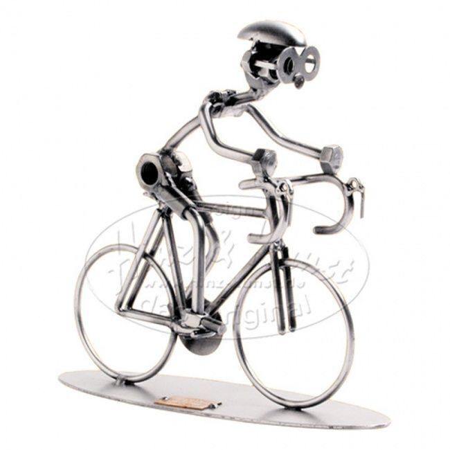 "Фигурка из металла ""Велосипедист"" от 4 550 руб"
