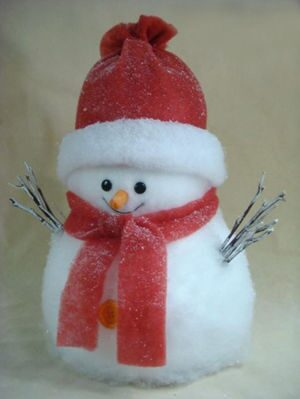 """Новогодняя декорация """"Снеговик"""", 30*50*30 от 3 250 руб"""