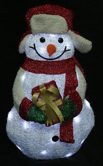 """Новогодняя фигура с подсветкой """"Снеговик"""" от 4 900 руб"""
