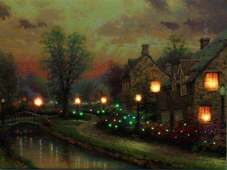 Купить картину со светодиодами