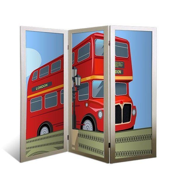 """Ширма-перегородка в детскую """"Лондонский автобус"""" от 9 990 руб"""