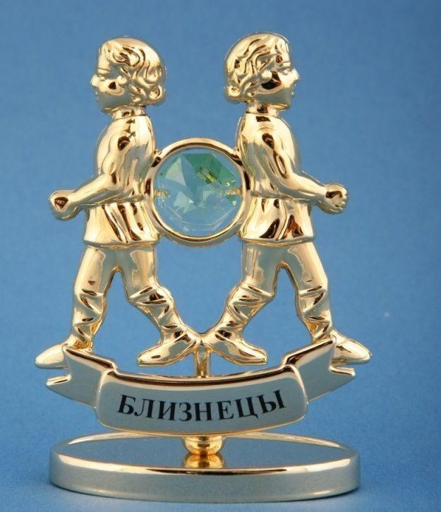 """Фигурка с кристаллами сваровски """"Близнецы"""" от 1 650 руб"""