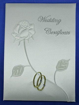 """Папка для свидетельства о регистрации брака """"Два кольца"""" 139357"""