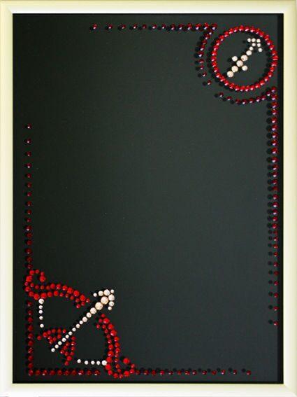 "Фоторамка с кристаллами Swarovski ""Стрелец"" от 4 180 руб"